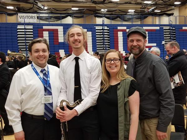 Congratulations to Ashley Davis and our music program!! Ashley was selected and performed with the All State Wind Ensemble as part of the Washington Music Educators Association Conference in Yakima.(more)<hr><br>