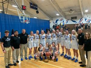 Congratulations to our La Conner Braves Girls' Basketball Team for Claiming the District Title!! Way to go Justine Benson on your amazing accomplishment becoming La Conner's All-Time Leading Female Scorer!! GO BRAVES!!(more)<hr><br>