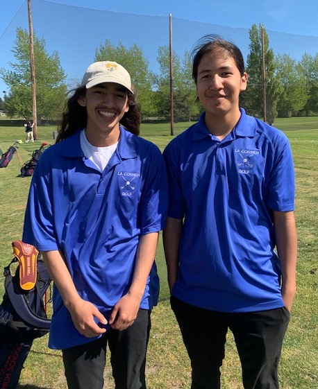 La Conner will be advancing Charles Baker and Elijah Porter to compete Golf in the Bi-District Tournament. Congratulations to all of our Braves for a great season! Good luck to Elijah and Charles next week!<hr><br>