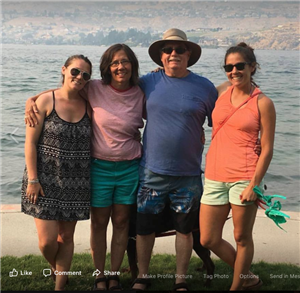 My family and I at Lake Chelan.