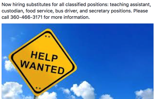 Classified Substitutes