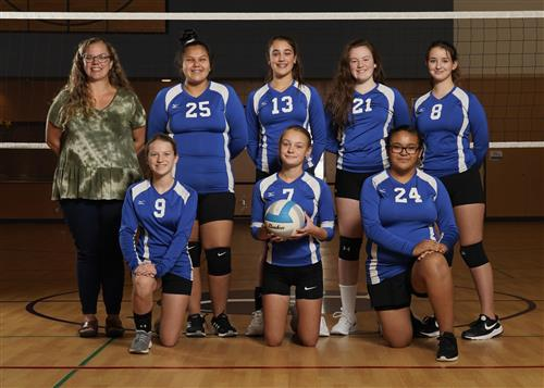 8th volleyball team